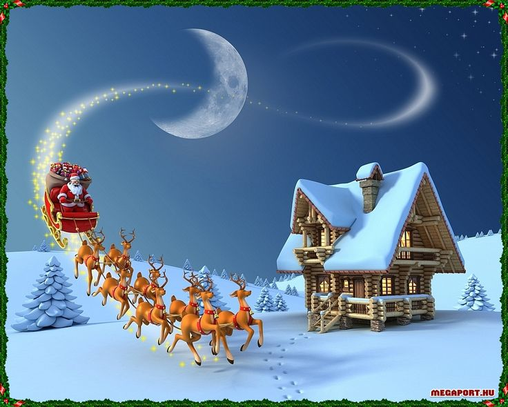 Finest 557 best Santa & his sleigh images on Pinterest | Christmas cards  AN01