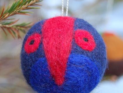 pukeko,bird,ornament,christmas,new zealand