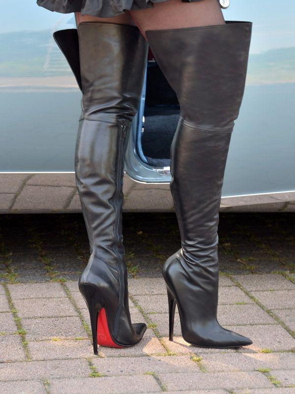 Fuss Boots - 833-2443 - Vitello nero