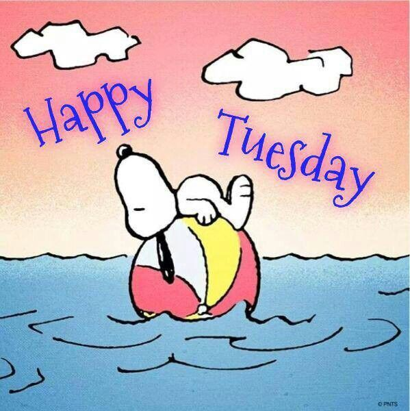 Image result for snoopy happy tuesday images