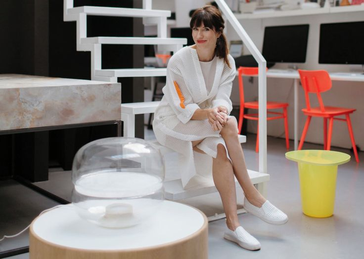 Stylepark magazine visits Lucie Koldova at her Prague studio to discuss light and its leading role in her vision for Das Haus at imm cologne 2018. Brokis - lights - MACARON by Lucie Koldova  - design - interior.