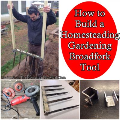The Homestead Survival | How to Build a Homesteading Gardening Broadfork Tool | http://thehomesteadsurvival.com