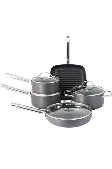 Smith + Nobel Hard Anodised Cookware Set 5pc $99.95