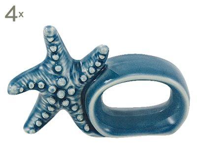 Servietten-Ring Seastar, 4 Stück