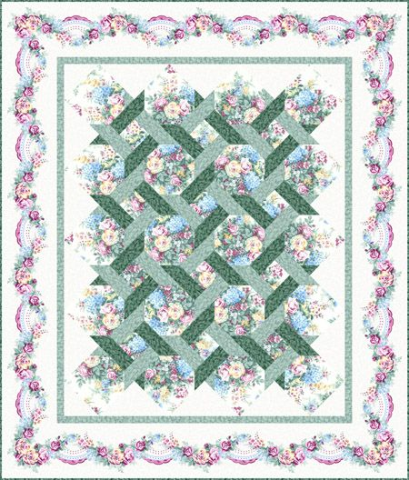 17 best images about lattice quilts on pinterest gardens for Garden trellis designs quilt patterns