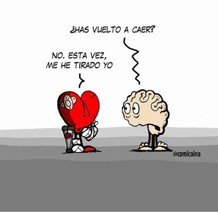 Esta Vez Fui Yo Corazon Vs Cerebro Corazon Y Cerebro Mente Y Corazon