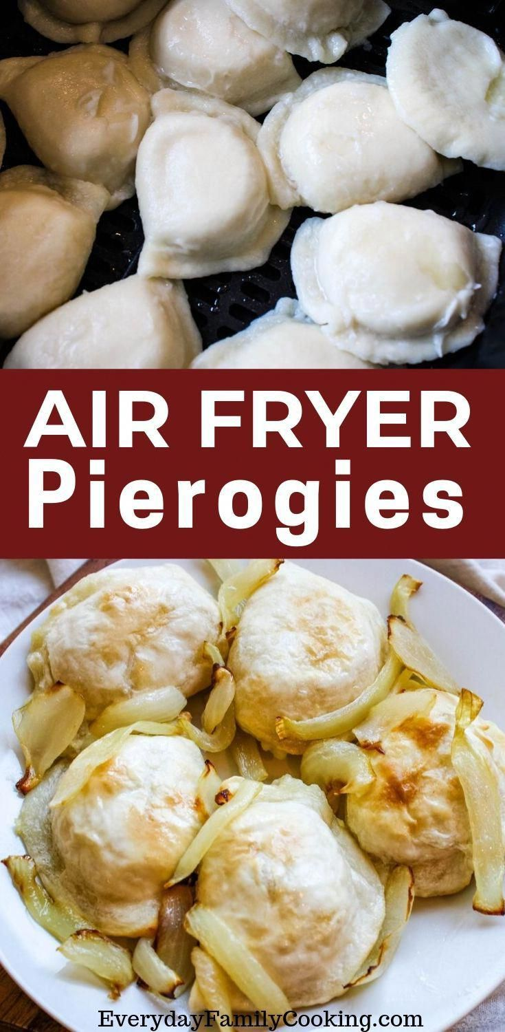 Air Fryer Pierogies with Onions Recipe in 2020 Air