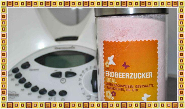 www.zaubermone.de: Erdbeerzucker