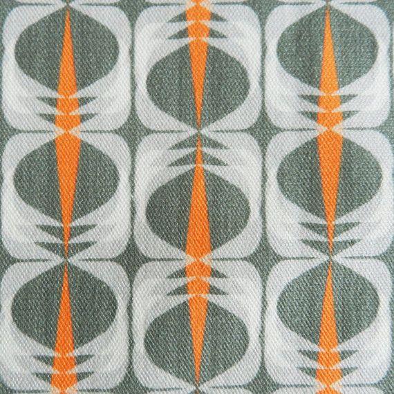 Sundial Midcentury Modern Cotton Fabric
