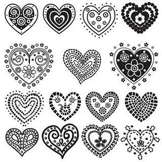 nice tangled hearts
