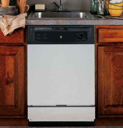 """24"""" Spacemaker Series Built In Full Console Dishwasher with 5 Wash Cycles, 12 Place Settings, Hard Food Disposer, Energy Star Certified, in Stainless Steel"""
