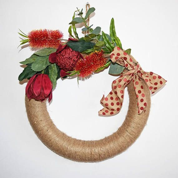 Extra Large Australian Native Flower Handmade Christmas