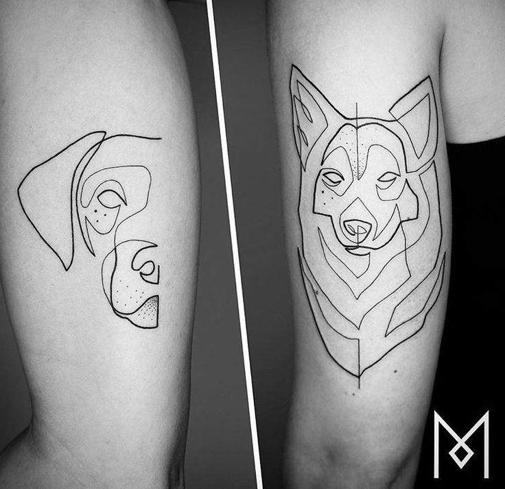 Tatuaje de perro Mo Ganji   – Tattoos