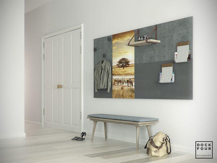 Meteen een statement maken bij binnenkomst? Plug and play! Stel jouw eigen Stylepads samen op www.dockfour.com