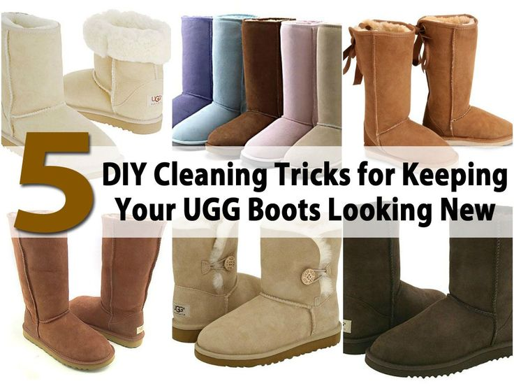 UGG boots are all the rage and because they are not all that cheap, it is important to take good care of them. Most people don't have a couple hundred bucks lying around to replace their boots just because they look dirty or have a few stains. There are effective and safe ways that you can...