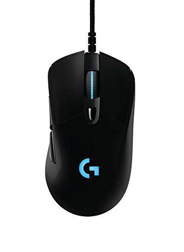 Logitech Souris Gaming: Performances de jeu: La souris gaming G403 Prodigy est jusqu'à 8 fois plus rapide, garantissant une reproduction…