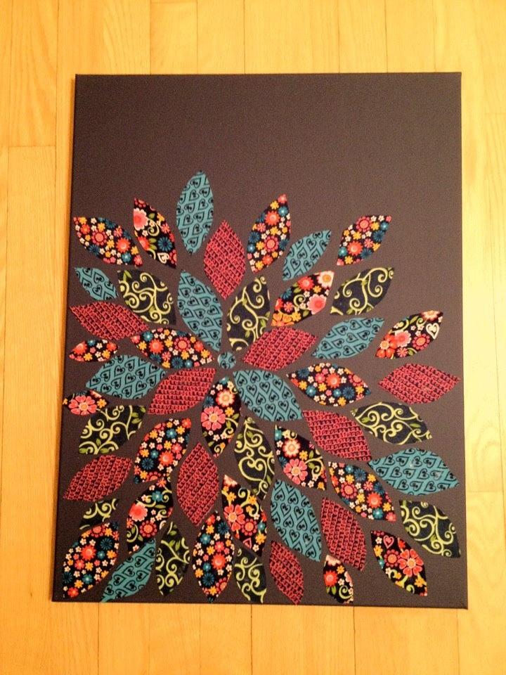 Beautiful fabric art...