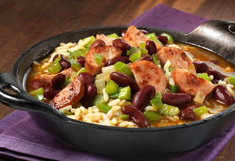 To Explore? To Create? To Wow? Share your reason and learn more at http://swanson.campbellskitchen.com/recipe/louisiana-style-beans-rice/