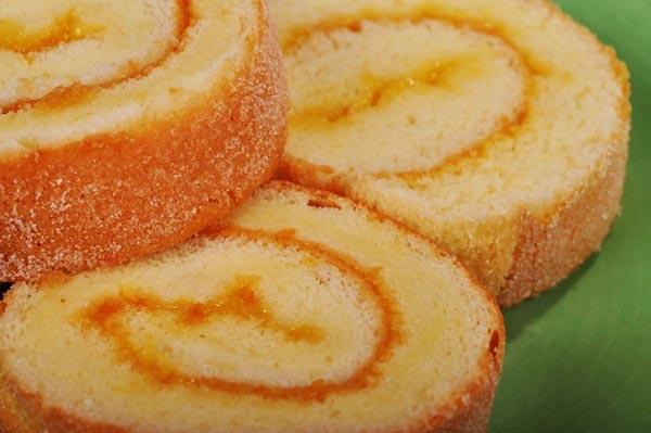 Butter Sugar Roll Cake Filipino