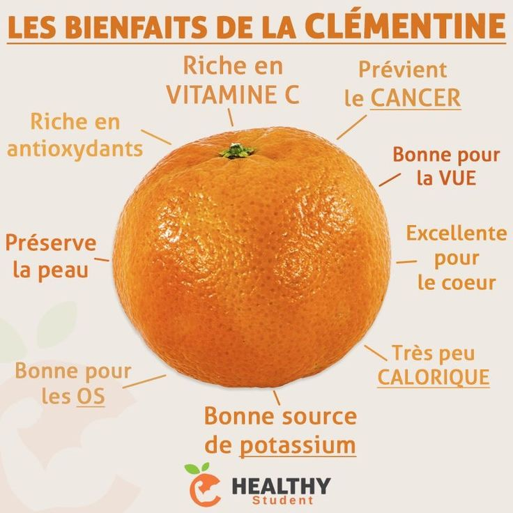 Nous sommes en plein dans la saison des clémentines, voici quelques-uns de ses bienfaits ! | Healthy Student par Valentin Loiseau, Facebook