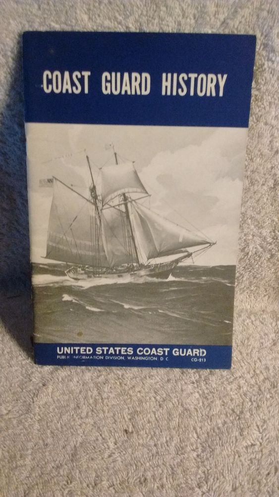 Coast Guard History , 1957 Recruiting booklet