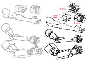 how to draw mecha, draw anime robots step 8