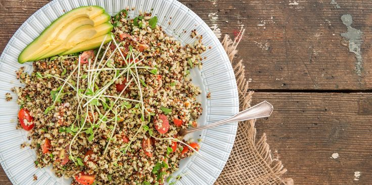 Brown Rice + Quinoa Salad - I Quit Sugar