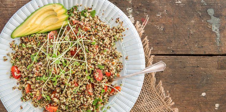 Brown Rice + Quinoa Salad - I Quit Sugar