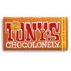 Tony Chocolonely   slaafvrije chocolade   Melkchocolade karamel & zout
