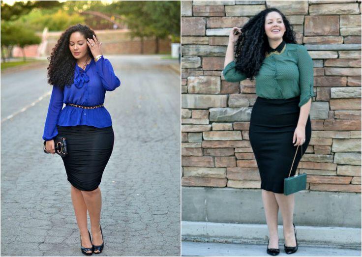 Самые удачные наряды для полных женщин: как выглядеть стройнее моложе изысканней!