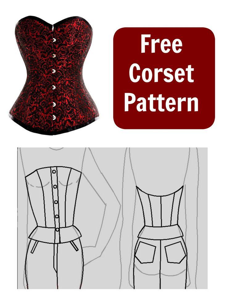 17 Best ideas about Corset Pattern on Pinterest | Custom ...