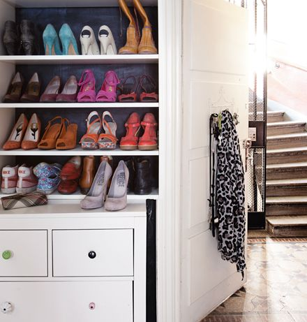 idée rangement maison: Interiors Inspiration, Clean Closet, Amelia Closet, Apartment Ideas, Closet Mydesignfix, Shoes Storage, Closet Inspiration, Closet Shelves, Shoes Closet