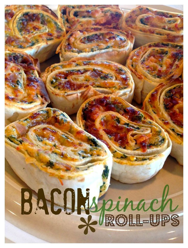 Bacon spinach - these were good but how could they not be? I'd make again for a girl's weekend