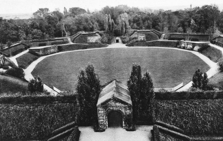 magdeburg rotehorn park   Freilichttheater1927