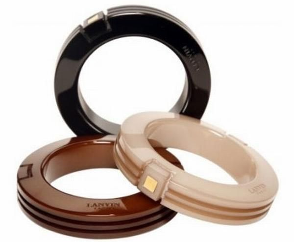 Rubber Wrist Bracelets from Lanvin <3