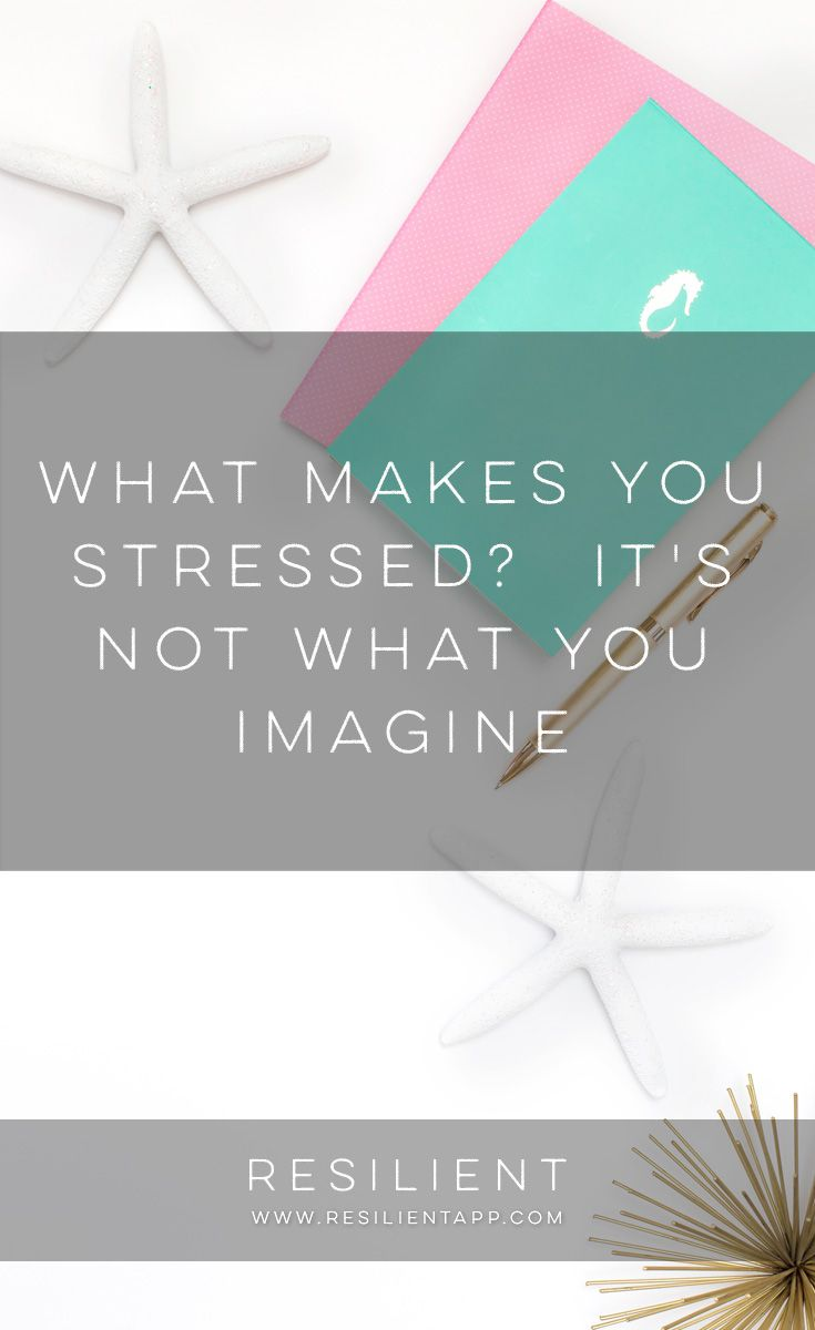 Other people make you stressed -- of course that's what you probably think. Nonetheless, the truth is that no one has the power to make you feel anything. If anyone had the power to command your emotions, what problems you might encounter! You would do exactly what they wanted and have no choices about how to make yourself happy. So, what makes you stressed? It's not what you imagine.
