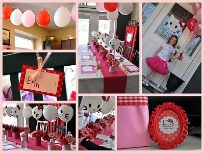 Hello Kitty birthday partyKitty Balloons, Kids Parties, Balloons Centerpieces, Birthday Parties, Hello Kitty Birthday, Balloons Ideas, Parties Ideas, Birthday Ideas, Hello Kitty Parties