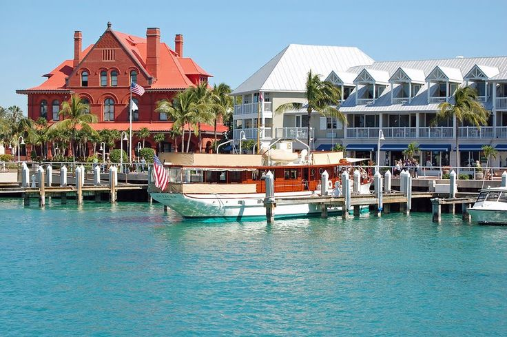 This is the view you have when you get off the cruise ship in Key West.  It is one of the most beautiful ports I have ever seen!