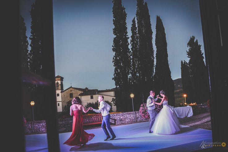 dancing in the moonlight. dancefloor by @almaproject at @vicchiomaggio