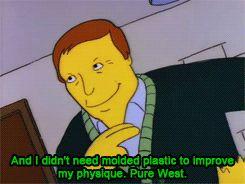 Adam West on the Simpsons....Pure West. - Album on Imgur