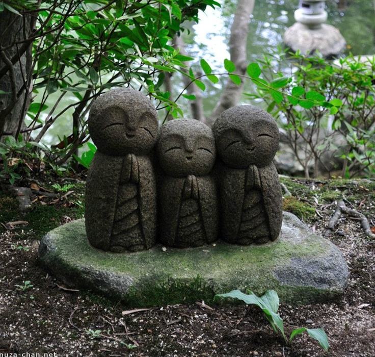 Jizo Or Ojizo Sama Is One Of Most Beloved Deities In Japan. Often, Jizo Is  Represented As A Monk With A Shaved Head And A Simple Robe, He Is The  Guardian Of ...