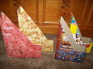 cereal boxes: Paper Holders, Baby Food Jars, Organizations Ideas, Crafts Rooms, Cereal Boxes, Magazines Holders, Decoupage Magazines, Jars Pincushions, Magazine Holders