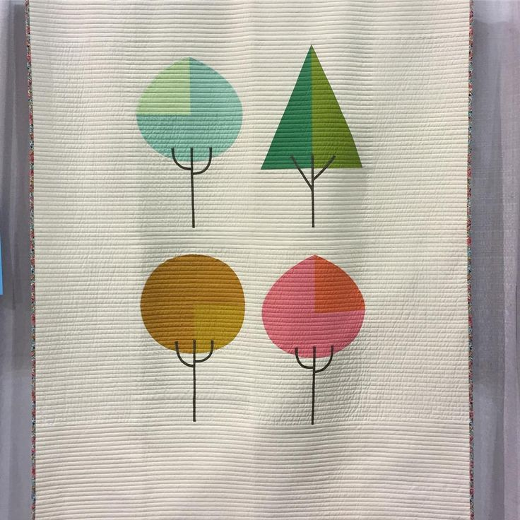 Die Beem (Trees) by Lindsey Neill @penandpaperpatterns #quiltcon2017