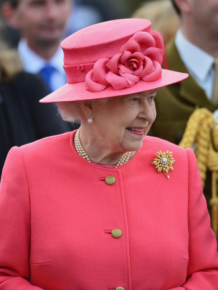 Queen Elizabeth, May 17, 2012