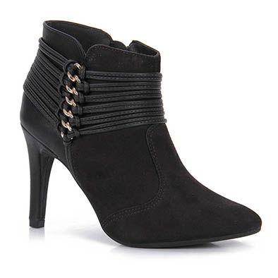 Ankle Boots Feminina Dakota - Preto