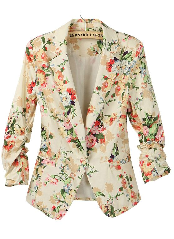 17 Best ideas about Floral Blazer on Pinterest | Blazers, American ...