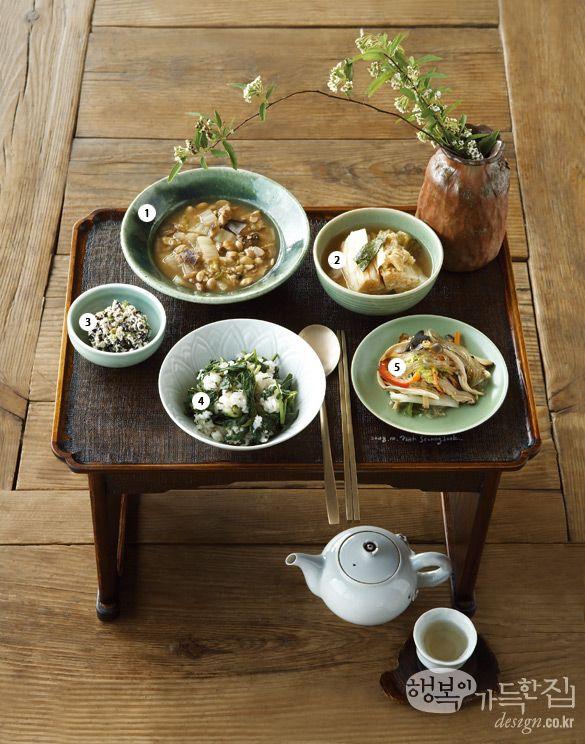 행복이가득한집 Design your lifestyle 사찰 음식으로 차린 치유의 밥상 대장 질환에 도움 되는 식단