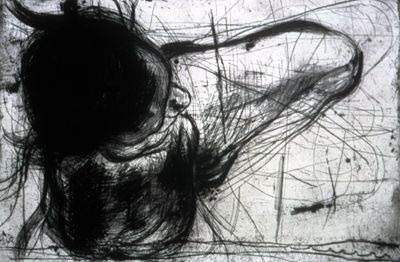 Legs Sylvia Schuster 1985 Aquatint, Drypoint, Etching, Engraving, Soft Ground on Murillo Paper Edition 19/20 36 x 24 inches