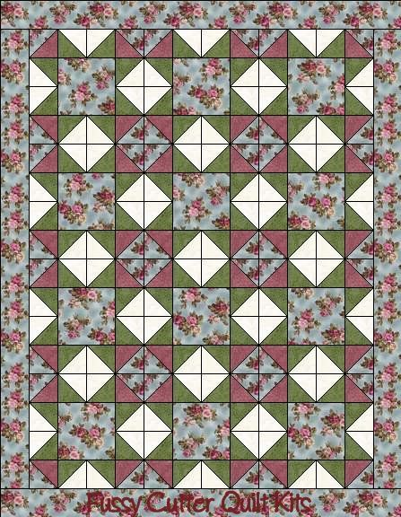 Quilt Patterns With Floral Fabric : 201 best FUSSYCUTTER.COM images on Pinterest Bear claws, Quilt patterns and Grocery bags