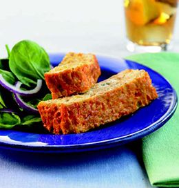 Buffalo Chicken Meatloaf from the Biggest Loser Cookbook.  I've made this and really like it.  (I always add more celery because we like the crunch.)  Next I'll try making these into meatballs and see if it works that way.